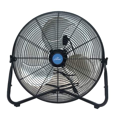 iLiving 20 Inch Multi-Purpose High Velocity Floor Fan or Wall Fan