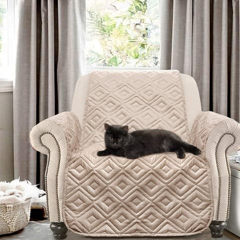 DriftAway Marley 100% Waterproof Quilted Machine-Washable Chair Protector