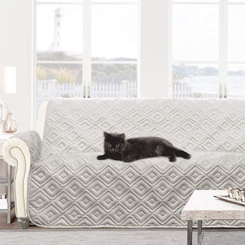 DriftAway Marley 100% Waterproof Quilted Loveseat Protector for Kids, Pets