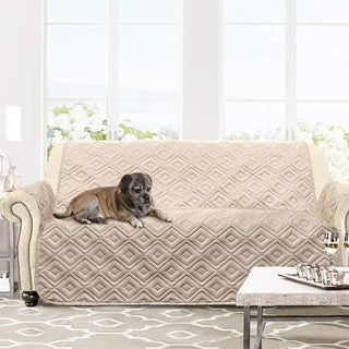 Link to DriftAway Marley 100% Waterproof Quilted Furniture Protector for Kids, Pets Similar Items in Slipcovers & Furniture Covers