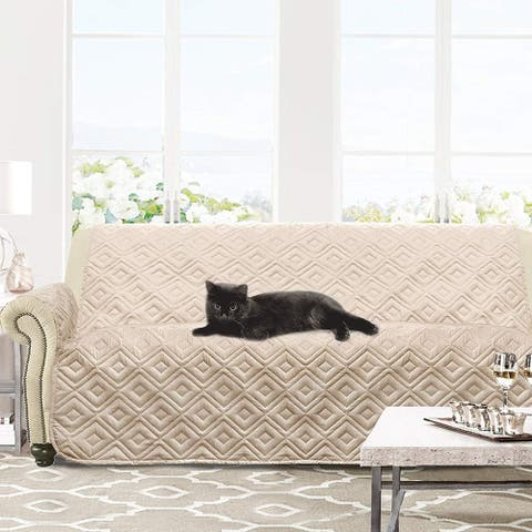 DriftAway Marley 100% Waterproof Quilted Machine-Washable Sofa Furniture Protector