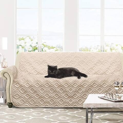 DriftAway Marley 100% Waterproof Quilted Machine-Washable Sofa Furniture Protector