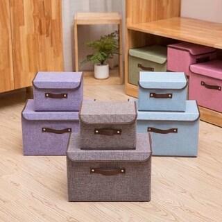 4pcs Storage Box & Medium Box & Two Tier's Box & Eight Slots Box Khaki