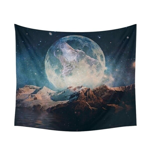 Bohemian Tapestry Moon Hanging Hippie Wall Decor 150cm * 130cm