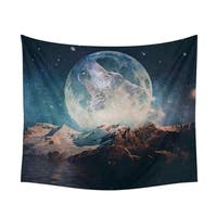 Bohemian Tapestry Moon Hanging Hippie Wall Decor Beach Towel 150cm * 130cm