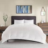 True North by Sleep Philosophy Extra Warmth White Oversized 100-percent Cotton Down Comforter