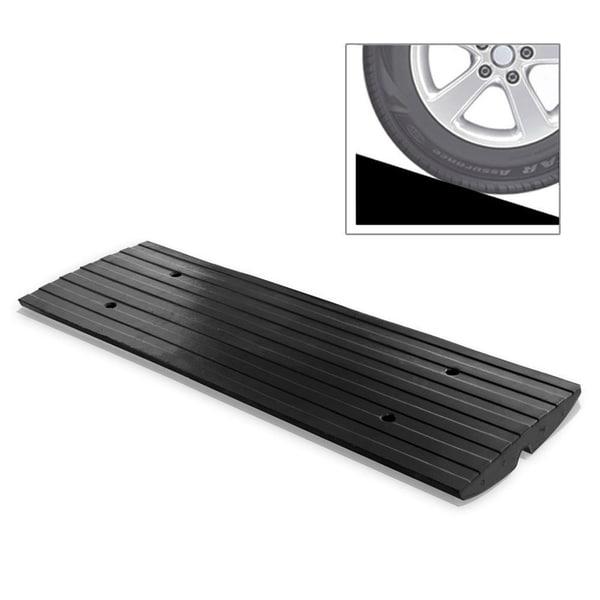 Shop Pyle PCRBDR23 Car Driveway Curb Ramp Heavy Duty Rubber