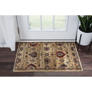 Alise Rugs Soho Transitional Border Scatter Rug - 2' x 3'