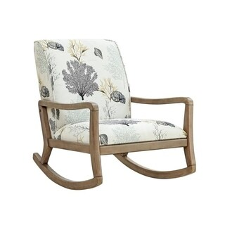 Powell Cozumel Wood Accent Chair