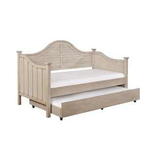 Powell Alana Natural-finish Rubberwood Day Bed and Trundle