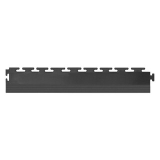 "Protection Garage Floor Tile Edge, 20.5"" x 2.5"" x .25"", 4 Pack (Option: Grey)"