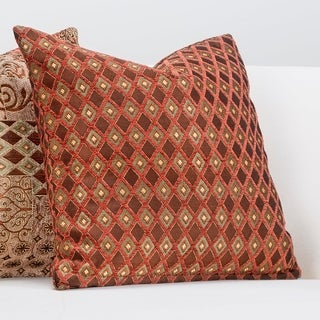 Siscovers Double Diamond Zippered Accent Pillow