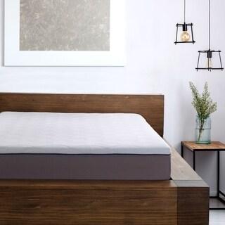 "Sleep Zone 10"" Latex and Memory Foam King Mattress"