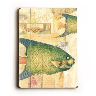 Fish -   Planked Wood Wall Decor by Cory Steffen