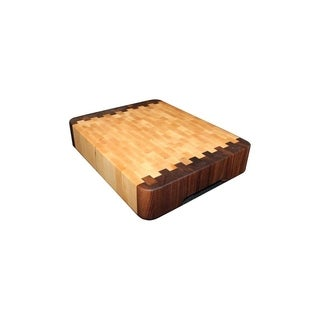 """Forever Joint Jumbo End Grain Cutting Board (2-3/4"""" x 12"""" x 16"""")"""