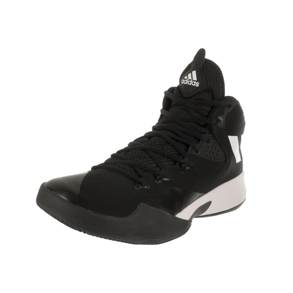 Tienda adidas hombre 's doble amenaza 2017 Basketball zapatos Free Shipping