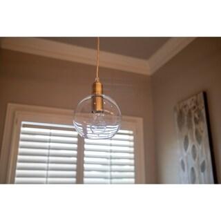 Chadwick Clear Glass Globe Pendant