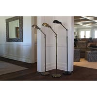 Dane Adjustable Pharmacy Floor Lamp