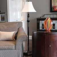 Adele Transitional Sculpted Floor Lamp