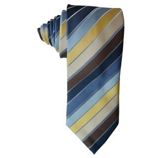 James Cavolini Italy Multicolor Striped Neck Tie