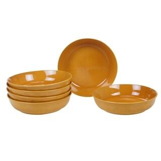 Certified International Autumn Fields Orbit Soup/Pasta Bowls, Set of 6