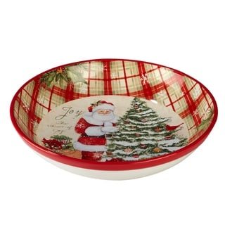 Certified International Holiday Wishes Serving/Pasta Bowl