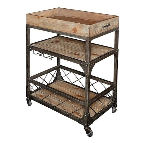 Alderman Bar Cart