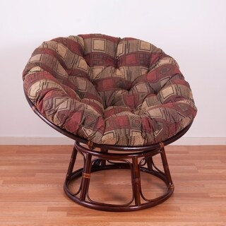 Blazing Needles 44-inch Papasan Chenille Cushion (More options available)