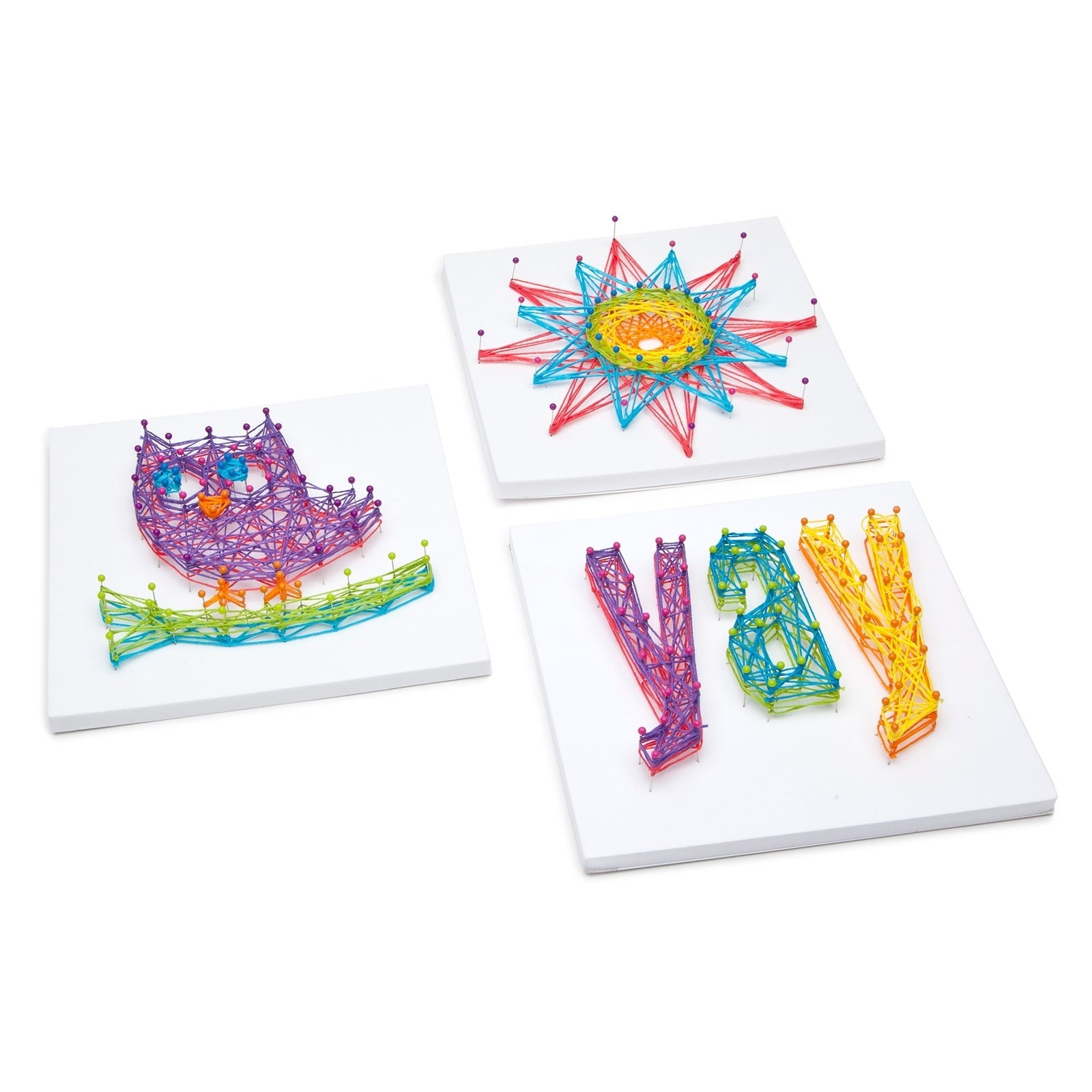 875db7c1f Shop Craft-tastic String Art Kit - Owl - Free Shipping On Orders Over $45 -  Overstock - 22577664