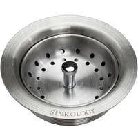 Sinkology Kitchen Sink Strainer Drain in Stainless Steel