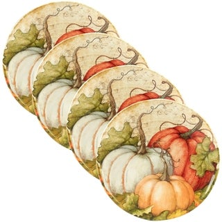 Certified International Autumn Fields 11-inch Dinner Plate, Set of 4