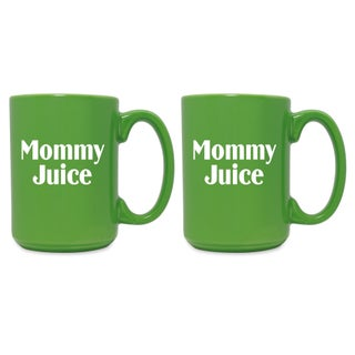 Mommy Juice Grande Mug (Set of 2) - N/A