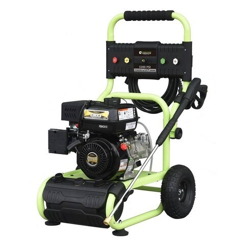 Green Power 3200 PSI Gas Dolly Style Pressure Washer, LCT Engine