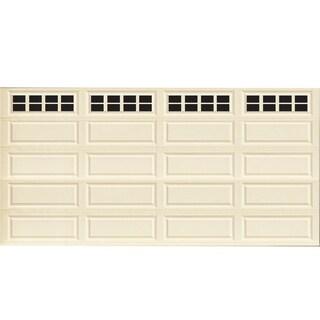 Decorative Magnetic Double Door Garage Windows, Black, 32 pc Set