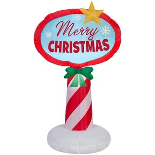 "42"" Inflatable Holiday Sign - 42.13"