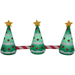 "24"" Inflatable Animated Pathway Trees - 24.02"