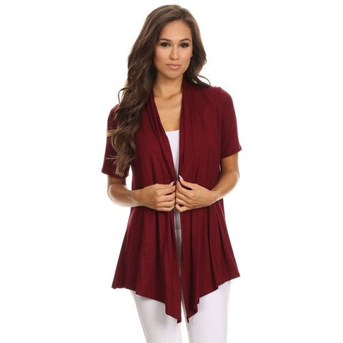 Women's Casual Style Solid Loose Fit Cardigan