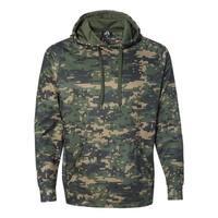 J America mens Volt Polyester Fleece Hood (JA8670)