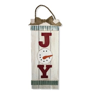 "18"" ""Joy"" Wall Art - 17.9"