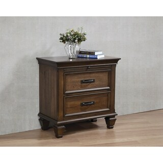 Franco 2-drawer Nightstand with Tray
