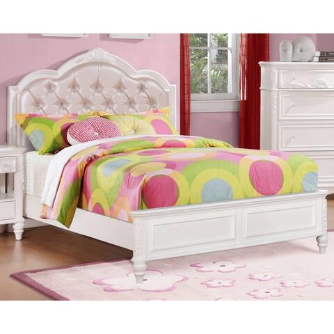 Caroline White Storage Bed