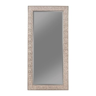 Transitional Mosaic Rectangular Mirror