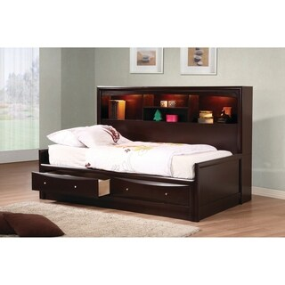 Phoenix Transitional Cappuccino Bed