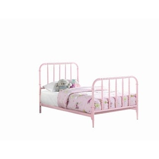 Loyola Traditional Pink Bed