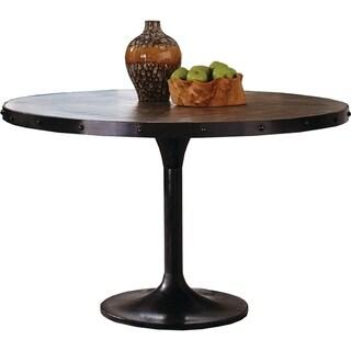 Carbon Loft Shropshire Rustic Black Dining Table