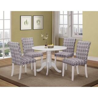 Dorsett Casual White Dining Table