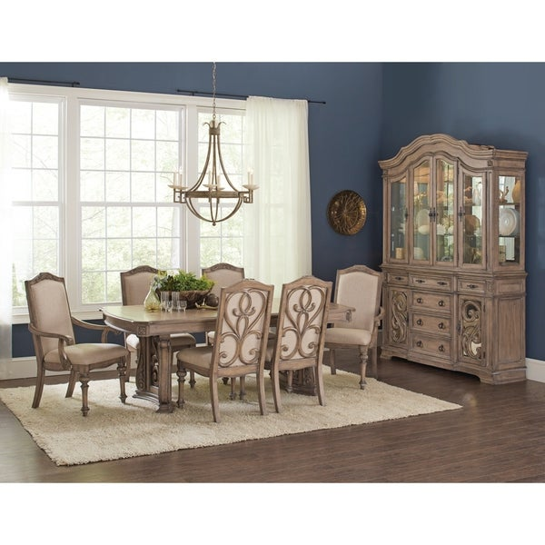 Ilana Traditional Formal Dining Table Brown