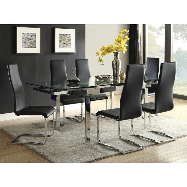 Modern Dining Table Sets On Sale: Shop Contemporary Wexford Chrome Dining Table