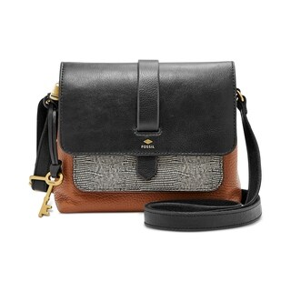 Fossil Kinley Small Leather Crossbody Multi