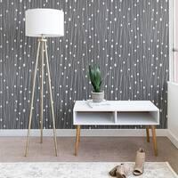 Heather Dutton Gray Entangled Wallpaper